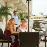 Lunch, Dockside at Port Ferdinand which are luxury marina residences for sale in Barbados
