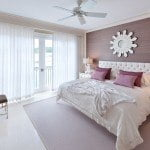 Master bedroom in 3 bedroom home at Port Ferdinand which are luxury marina residences for sale in Barbados