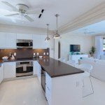 Gorgeous kitchens at Port Ferdinand which are luxury marina residences for sale in Barbados