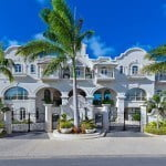 Grand entrance at Port Ferdinand which are luxury marina residences for sale in Barbados