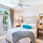 Guest bedroom at Port Ferdinand which are luxury marina residences for sale in Barbados
