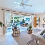 Home 504 Open plan Living and Terrace Dining at Port Ferdinand which are luxury marina residences for sale in Barbados