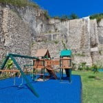 Outdoor fun for kids at Port Ferdinand which are luxury marina residences for sale in Barbados