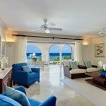 Luxury Beachfront Home - Living room at Saint Peter's Bay which are luxury residences in Barbados for sale