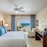 Luxury Beachfront Home - Master bedroom at Saint Peter's Bay which are luxury residences in Barbados for sale