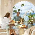 Luxury Penthouse Dining at Saint Peter's Bay which are luxury residences in Barbados for sale