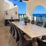 Terrace Dining for Breakfast, Lunch & Dinner at Saint Peter's Bay which are luxury residences in Barbados for sale