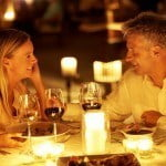 Fine dining at Port Ferdinand which are luxury marina residences for sale in Barbados