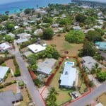 Aerial view of #192 Nutmeg Row which is a villa for sale in St. James, Barbados