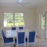 Dining room at #192 Nutmeg Row which is a villa for sale in St. James, Barbados