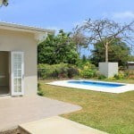 Patio & Garden at #192 Nutmeg Row which is a villa for sale in St. James, Barbados