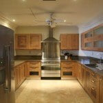 Kitchen at Sandy Cove 101 which is a luxury beachfront apartment for sale in Barbados on the West coast