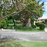 Driveway and Entrance of Champaign which is a large property for sale in Barbados