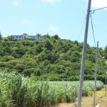 View of Champaign from the road which is a large property for sale in Barbados