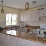 Kitchen of 8 Coral Haven which is a beautiful short term rental in Barbados
