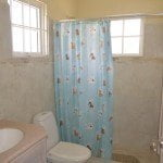 Master bathroom of 8 Coral Haven which is a beautiful short term rental in Barbados