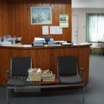Reception area of commercial property at Webster Industrial Park for sale in Barbados