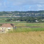 Views of the St. George valley from lot 2 Yorkshire Plantation, Christ Church, Barbados