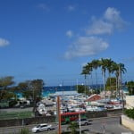 View of the Barbados Yacht Club from #17 Banyan Court which is a beautiful condo for sale in Barbados